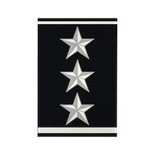 Lieutenant General Rectangle Magnet