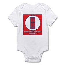 Strange things are afoot Infant Bodysuit