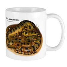 Green Anaconda Mug