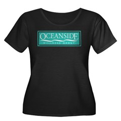 Oceanside Women's Plus Size Dark T-Shirt