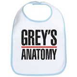 Grey's Faded Bib