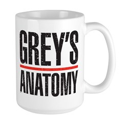 Grey's Faded Large Mug
