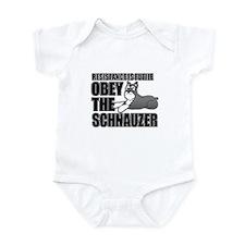 Schnauzer Infant Bodysuit