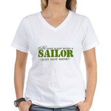 Be safe sleep with a Sailor.. Shirt