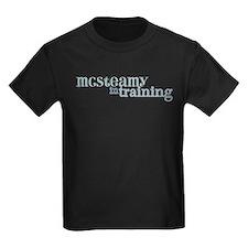 McSteamy in Training Kids Dark T-Shirt