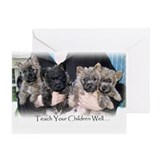 """Teach Your Children Well"" Greeting Card"