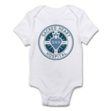 Sacred Heart Color Infant Bodysuit