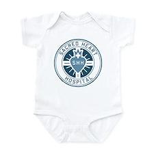 Sacred Heart Color Infant Bodysuit