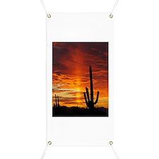 Saquaro Sunset Banner