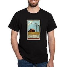 Travel Kansas T-Shirt