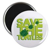 SAVE TURTLES Magnet