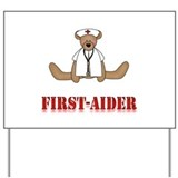 First Aider Yard Sign