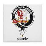 Boyle Clan Badge Crest Tile Coaster