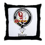 Boyle Clan Badge Crest Throw Pillow