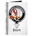 Boyle Clan Badge Crest Journal