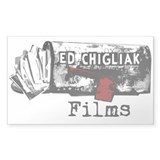 Ed Chigliak Films Decal