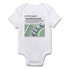 Cute Sports recreation Infant Bodysuit