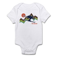 Ski Colorado Infant Bodysuit