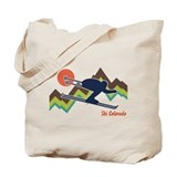 Ski Colorado Tote Bag
