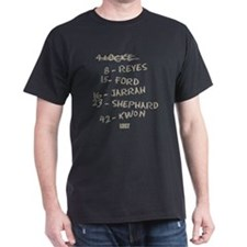 Numbers and Names T-Shirt