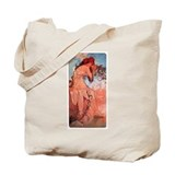 Alphonse Mucha Tote Bag