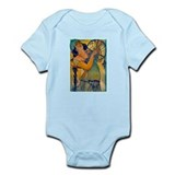Alphonse Mucha Infant Bodysuit