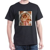 Alphonse Mucha  T-Shirt