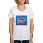 Lynwood California Women's V-Neck T-Shirt