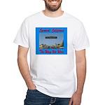 Lynwood California White T-Shirt