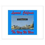 Lynwood California Small Poster