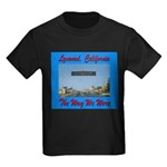 Lynwood California Kids Dark T-Shirt