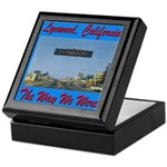 Lynwood California Keepsake Box