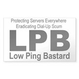 LPB Rectangle Decal