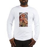 Alphonse Mucha Long Sleeve T-Shirt