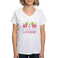 Cute Bassoon Ladybug Shirt