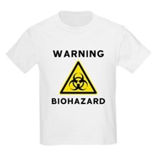 Biohazard Warning Sign T-Shirt
