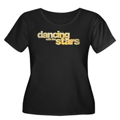 DWTS Logo Women's Plus Size Scoop Neck Dark T-Shir
