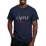 Castle Men's Fitted T-Shirt (dark)