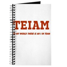 I in Team (no star) Journal
