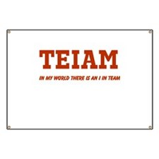 I in Team (no star) Banner