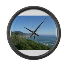 Cute Southern ocean Large Wall Clock