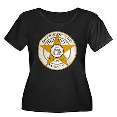 Pulaski County Sheriff Women's Plus Size Scoop Nec