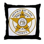 Pulaski County Sheriff Throw Pillow