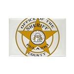 Pulaski County Sheriff Rectangle Magnet
