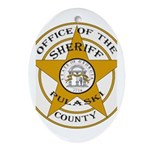 Pulaski County Sheriff Ornament (Oval)