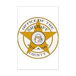Pulaski County Sheriff Mini Poster Print