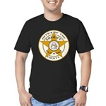 Pulaski County Sheriff Men's Fitted T-Shirt (dark)