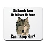 he followed me home! Mousepad