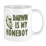 Darwin is my Homeboy Small Mug