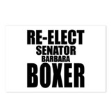 Re-Elect Sen. Boxer Postcards (Package of 8)